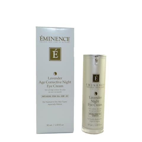 Eminence Lavender Age Corrective 1.05-ounce Night Eye Cream
