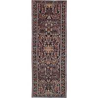 eCarpetGallery Lilihan Blue Wool Hand-knotted Rug (3'3 x 9'8)