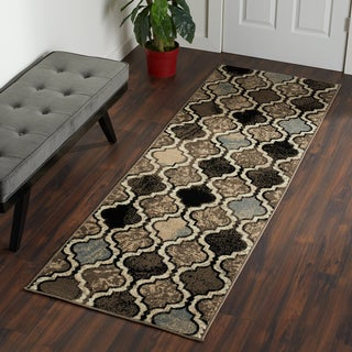 Superior Modern Viking Area Rug (2'7 x 8')
