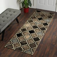 Superior Modern Viking Area Rug - 2'3 x 8'