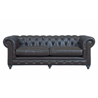Durango Antique Brown Bonded Leather Sofa