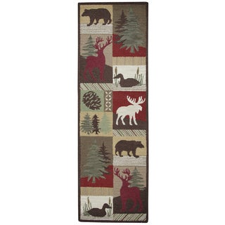 Rizzy Home Country Collection Accent Runner Rug (2'6 x 8')