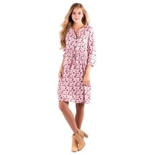 DownEast Basics Women's Rayon Blend Vail Garden Dress