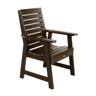 Highwood Eco-friendly Marine-grade Synthetic Wood Weatherly Armchair