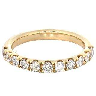 14k Yellow Gold 4/5ct TDW Diamond Wedding Band Size 7 (H-I, I1-I2)
