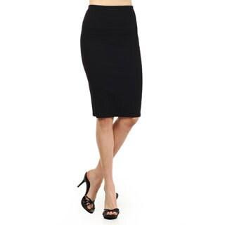 MOA Collection Women's Textured Skirt
