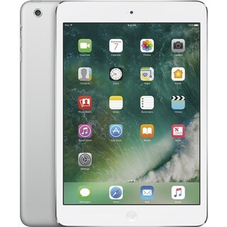 Apple iPad Mini 2 ME277LL/A 8-inch Retina Display, 1.30GHz Dual-core Processor, 32GB, iOS 7, Silver