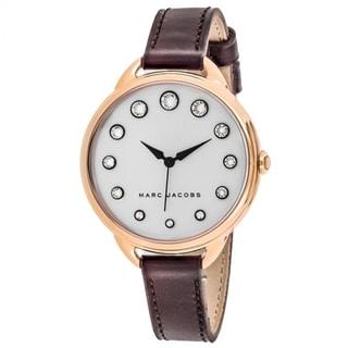 Marc Jacobs Betty MJ1478 Women's Silver Dial Watch