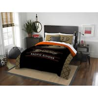 The Northwest Company NHL 849 Ducks Draft Full/Queen 3-piece Comforter Set