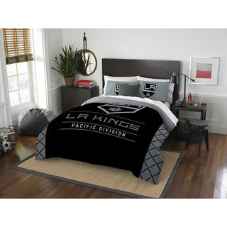 The Northwest Company NHL 849 LA Kings Draft Full/Queen 3-piece Comforter Set