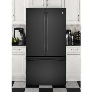 GE Series Engergy Star 28.5 Cubic Foot French Door Refrigerator