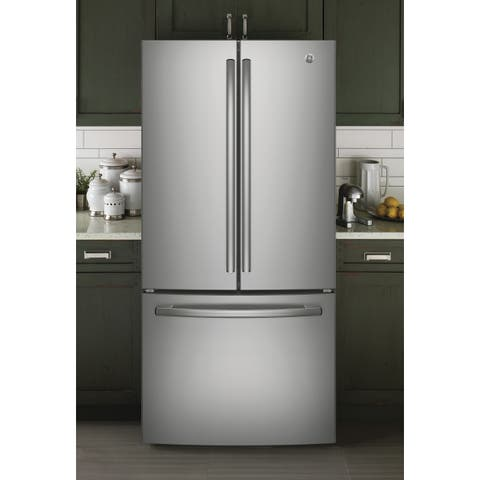 GE Series Energy Star 24.8 cu.ft. French Door Stainless Steel Refrigerator