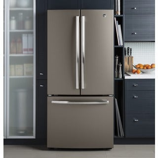 GE Series Energy Star 24.8 cubic foot French Door Refrigerator