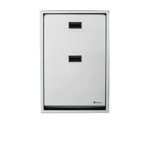 Foundations Premier Vertical Recessed Full Stainless Steel Changing Station