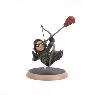 Quantum Mechanix Green Arrow PVC Q-Fig Figure
