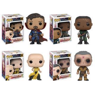 Funko Dr. Strange: POP! Marvel Collectors Set; Dr. Strange, Mordo, Ancient One, Kaecilius