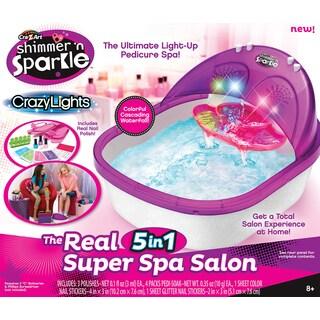 Cra-Z-Art Shimmer 'N Sparkle Crazy Lights The Real 5-in-1 Super Spa Salon