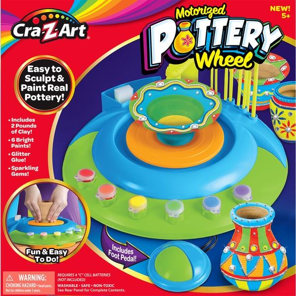 Cra-Z-Art Motorized Pottery Wheel Kit