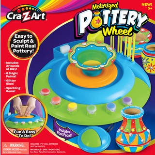 Cra-Z-Art Motorized Pottery Wheel Kit|https://ak1.ostkcdn.com/images/products/13257621/P19970300.jpg?impolicy=medium