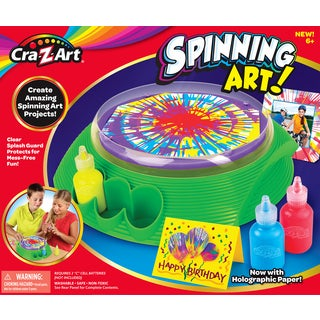 Cra-Z-Art Spinning Art Kit