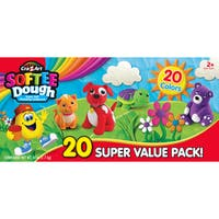 Cra-Z-Art Softee Dough Super Soft 20-pack Modeling Compound
