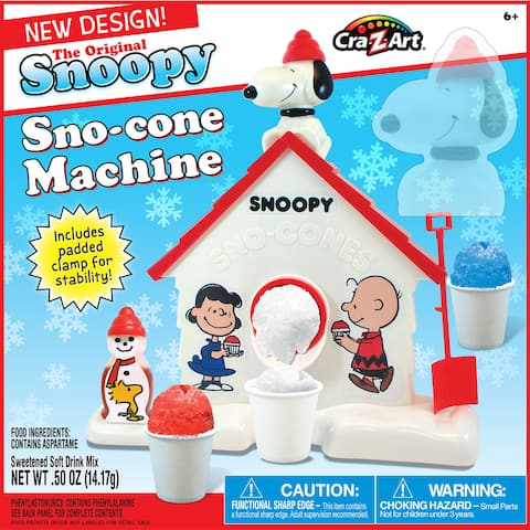 Cra-Z-Art The Original Snoopy Sno-Cone Maker