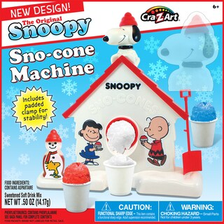 Cra-Z-Art The Original Snoopy Sno-Cone Maker