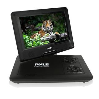 Pyle PDV71BK 7-inch Portable CD/DVD Player/ Built-in Rechargeable Battery/ USB/SD Card Memory Readers (4 Color Options)