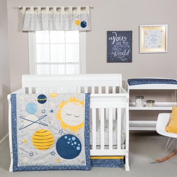 Shop Trend Lab Galaxy Crib Bedding 3 Piece Set Free
