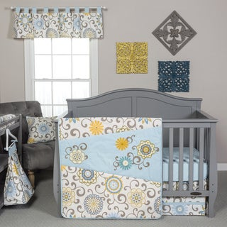 Waverly Baby 'Pom Pom Spa' Bedding (4-Piece Set)