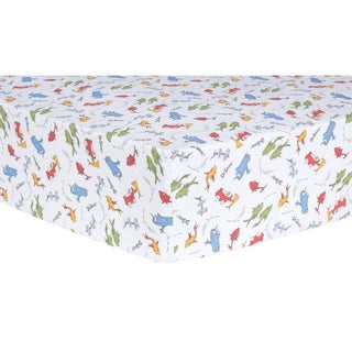 Dr. Seuss 'One Fish, Two Fish' Fitted Crib Sheet