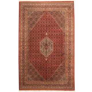 Herat Oriental Indo Hand-knotted Bidjar Wool Rug (10' x 16')