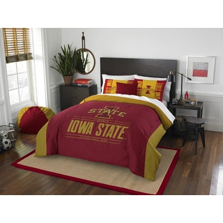 The Northwest Company COL 849 Iowa State Modern Take Full/Queen 3-piece Comforter Set
