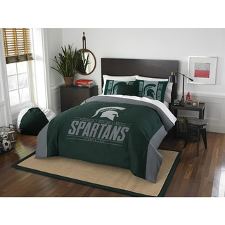 Link to The Northwest Company COL 849 Michigan State Modern Take Full/ Queen 3-piece Comforter Set Similar Items in Comforter Sets