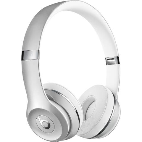 Beats by Dr. Dre Beats Solo3 Silver On-ear Cushioned Wireless Headphones