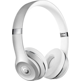 Link to Beats by Dr. Dre Beats Solo3 Silver On-ear Cushioned Wireless Headphones Similar Items in Headphones