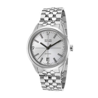 Bulova Accu-Swiss Made 63B177 Men's Stainless Steel Swiss Made Automatic Watch