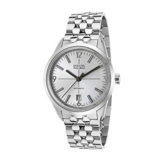 Bulova Accu-Swiss Made 63B177 Men's Stainless Steel Swiss Made Automatic Watch