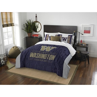 The Northwest Company COL 849 Washington Modern Take Full/ Queen 3-piece Comforter Set