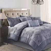 Style Decor Bardot 7-piece Jacquard Complete Comforter Set