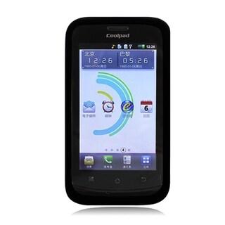 Coolpad Quattro 4G /5860e Black TPU Skin Cover Case