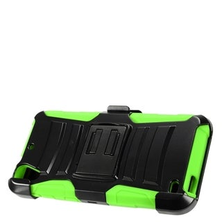 HTC Desire 526 Black TPU and PC Protective Case With Holster