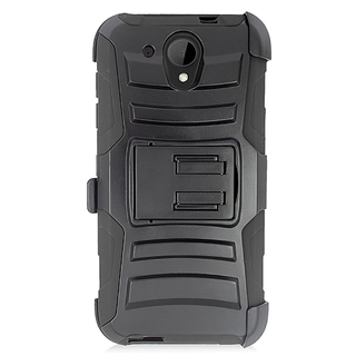 HTC Desire 520 Black Holster Case