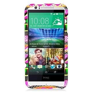 HTC DESIRE 510 Pink Tribal Pattern TPU Case