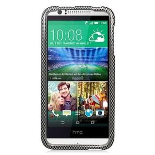HTC Desire 510 Glossy Cover Carbon Fiber 127 Protective Case
