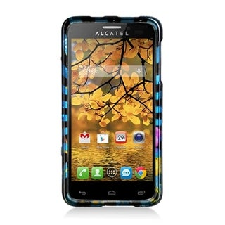 Alcatel One Touch Fierce Colorful Fireworks Multicolor Glossy Case