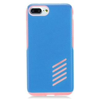Apple iPhone 7 Plus Pink and Blue TPU and PC Case