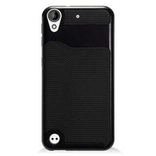 Black TPU Hybrid Case for HTC Desire 530