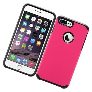 Black TPU Apple iPhone 7 Plus Hybrid Hard Case