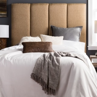Humble + Haute Victoria Tall Golden Brown Upholstered Headboard